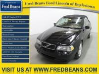 This 2001 Volvo C70 Convertible comes with a complete
