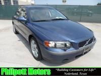 Options Included: N/A2001 Volvo S60, blue with gray