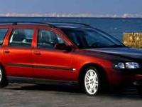 Clean CARFAX. AWD, Cloth. 2001 Volvo V70All prices are
