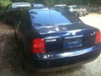 2001 VW PASSAT FOR PARTS 6 CYLINDERS ENGINHE $750 AUTO