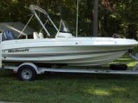 2001 Wellcraft 180 Fisherman in good condition