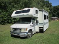Ford Chassis E450Gas EngineMileage 40,256Tires have