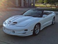 For sale is my 2001 Ws6 Trans Am Convertible. The car