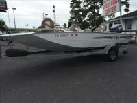 THIS BOAT IS A ONE OWNER AND IT COME WITH A YAMAHA 115