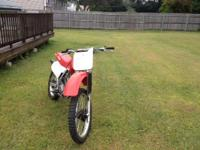 2001 XR 200. Perfect condition. I bought this bike for
