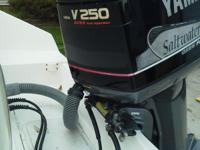 2001 Yamaha 250hp OX66 Fuel Injected 2-Stroke Outboard,