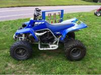 2001 Yamaha Banshee 350 6 speed. Graydon Proline pipe.