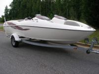 20 Foot Boat, Twin 135 hp 3 Cylinder Engines Pushing A