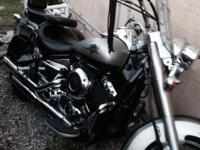 Silver Yamaha Star 650 motorcycle in outstanding