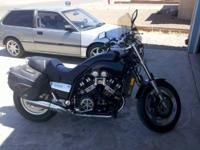 I am selling my 2001 Yamaha V-max. It has around 14500