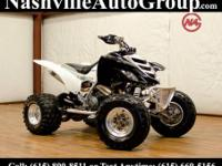 This unique 2001 Yamaha Raptor 660R is being brought to