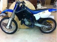 01 Yamaha YZ125 dirt bike it runs great on the new