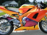 2001 Yamaha YZF-R1 with only 10,563 miles! This is not