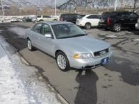A4 2.8 quattro, 4D Sedan, V6, 5-Speed Automatic with