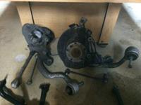 all front suspension arms,parts,accessories CAR HAD 90K