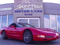 This 2001 Chevrolet Corvette 2dr 2dr Z06 Hardtop Coupe
