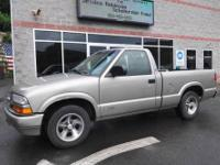 2001 Chevrolet S10 Pickup, well equipped with a fuel