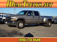 Options:  2001 Chevrolet Silverado 3500 Crew Cab Dually