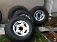 I have 4 2001 Dodge alloy wheels and spare steel wheel