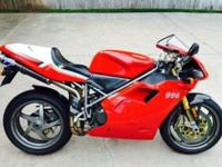 2001 Ducati 996 S Tricolore Superbike. This is a real S