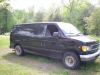 2001 Ford E150 Econoline Cargo Van. Well maintained V8