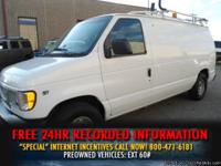 2001 Ford Econoline Cargo Van E-150 CARGO COUNTRY MANY