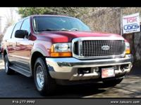 Our 2001 Ford Excursion Limited 4x2 is a vehicle like
