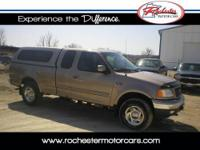 2001 Ford F-150 XLT, 4WD with 148,947 miles. This trade