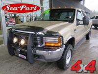 From home to the job site, this Gold 2001 Ford Super