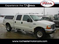 2001 Ford F-350 XLT, 4WD with 214,574 miles. This local