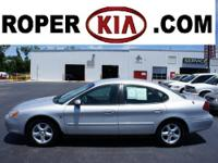 2001 Ford Taurus 4 Dr Sedan SES Our Location is: Roper