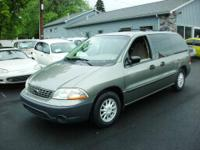 THIS FORD WINDSTAR WAS A LOCAL TRADE. IT IS CLEAN, HAS