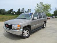 Options Included: N/A2001 GMC Yukon XL SLE with JUST