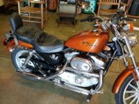 883custom copper pearl, new tires, battery, stainless
