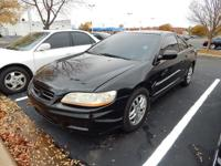 We are excited to offer this 2001 Honda Accord Cpe. The