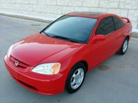 RED HOT BEAUTY!!! IMMACULATE.... GAS SAVER CARFAX