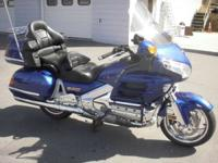 2001 Honda Gold Wing 1500 GOLDWING INCLUDES LUGGAGE