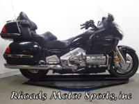 2001 Honda Goldwing GL1800 with 57,785 Far. This is