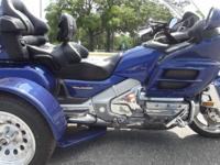 2001 HONDA GOLDWING TRIKE ONLY 27,000 MILES ON IT RUNS