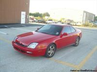 I am selling a 2001 Honda Prelude 2 door coupe, the car