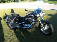 2001 Honda Shadow Sabre 1100 for sale. Runs great,