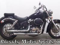 2001 Honda VT750CD2 with 37,065 Miles This would be a