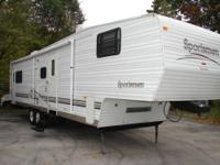 2001 35foot K-Z SPORTSTER SUPER-SLIDE 5th wheel toy