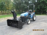 2001 New Holland TC21D tractor with 716B New holland