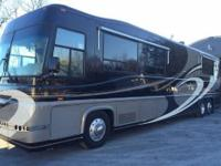 2001 Newell Coach 45', Detroit Series 60-500 HP, Jake