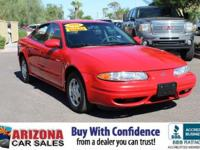 2001 Bright Red Oldsmobile Alero GL1 4D Sedan21/29