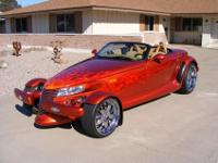 FOR SALE IS MY 2001 PLYMOUTH PROWLER ROADSTER.BLACK