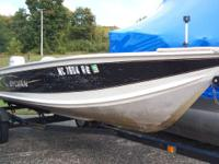 2001 Sylvan 1600 2001 Sylvan 1600 with 2001 Honda 25hp