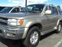 Check out this 2001 Toyota 4Runner SR5. Its Automatic