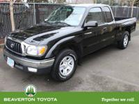 ONE OWNER!!! Very reliable 2001 Toyota Tacoma. This